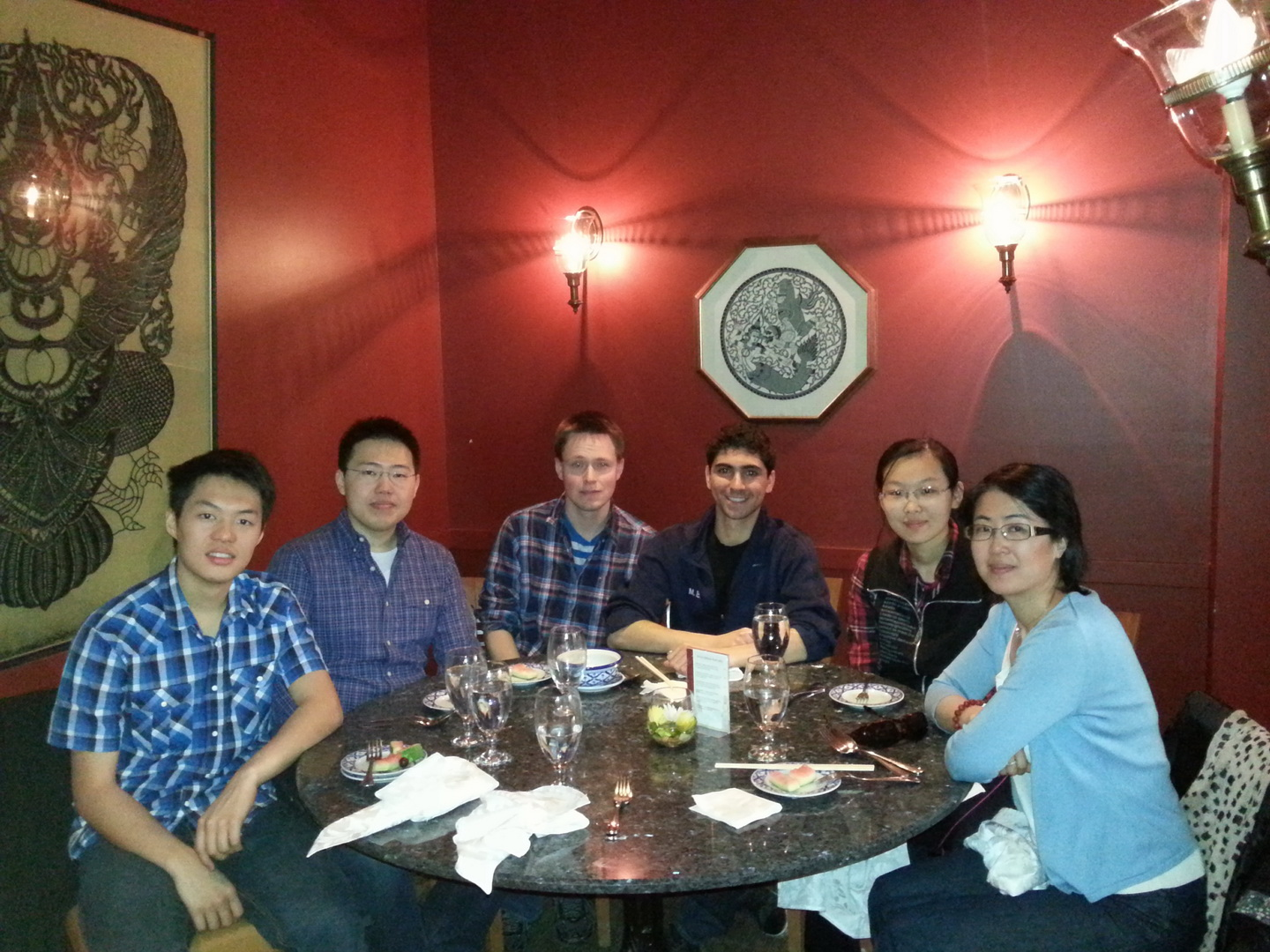 Lab lunch 2013 05